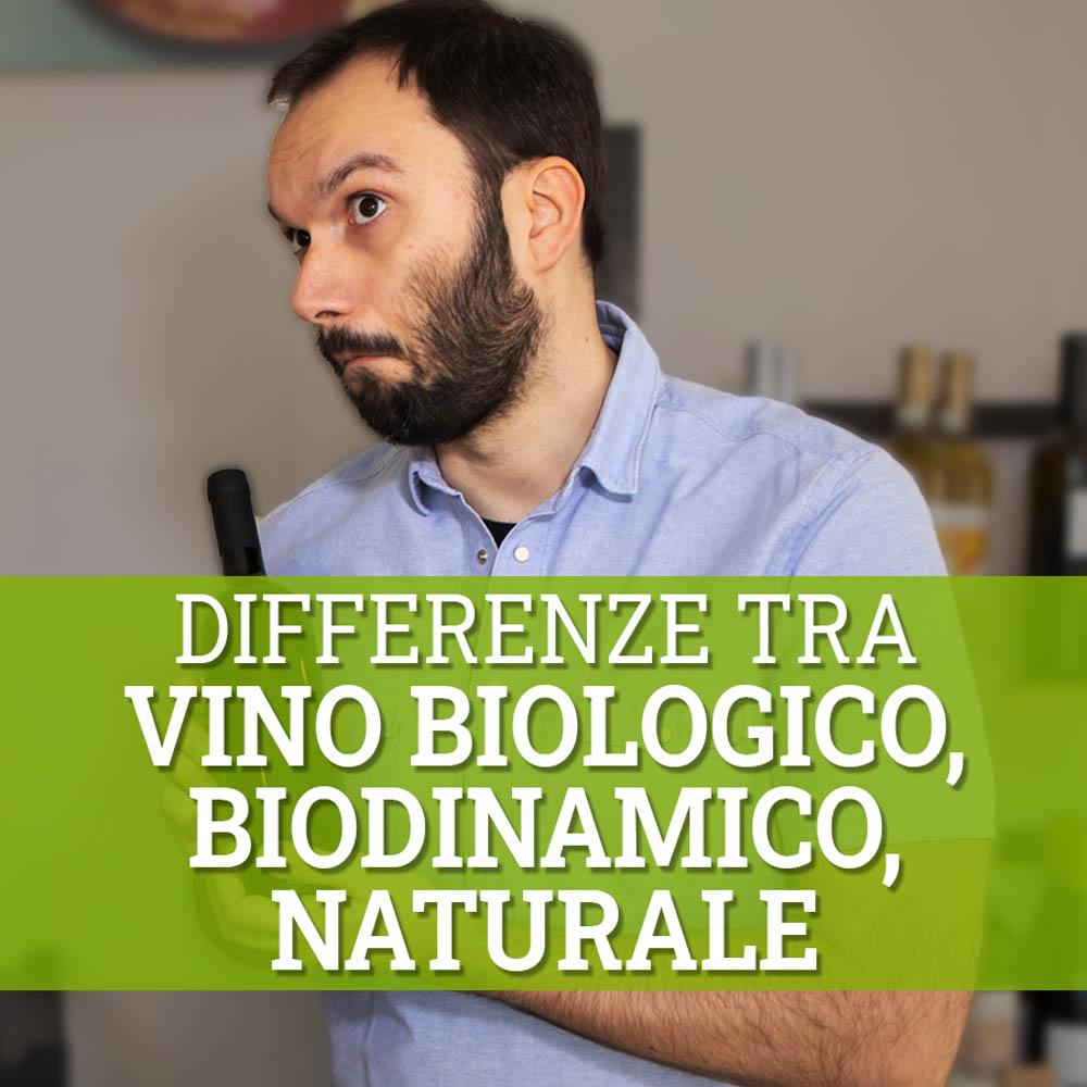 differenze tra vino biologico, biodinamico e naturale