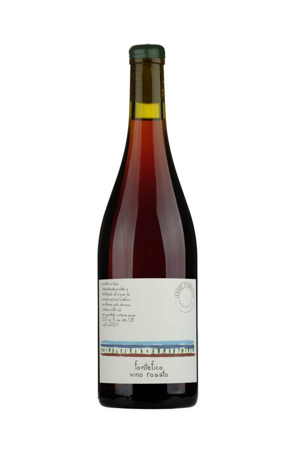 Febbre d'Abruzzo vino rosato blend di uve rosse fontefico